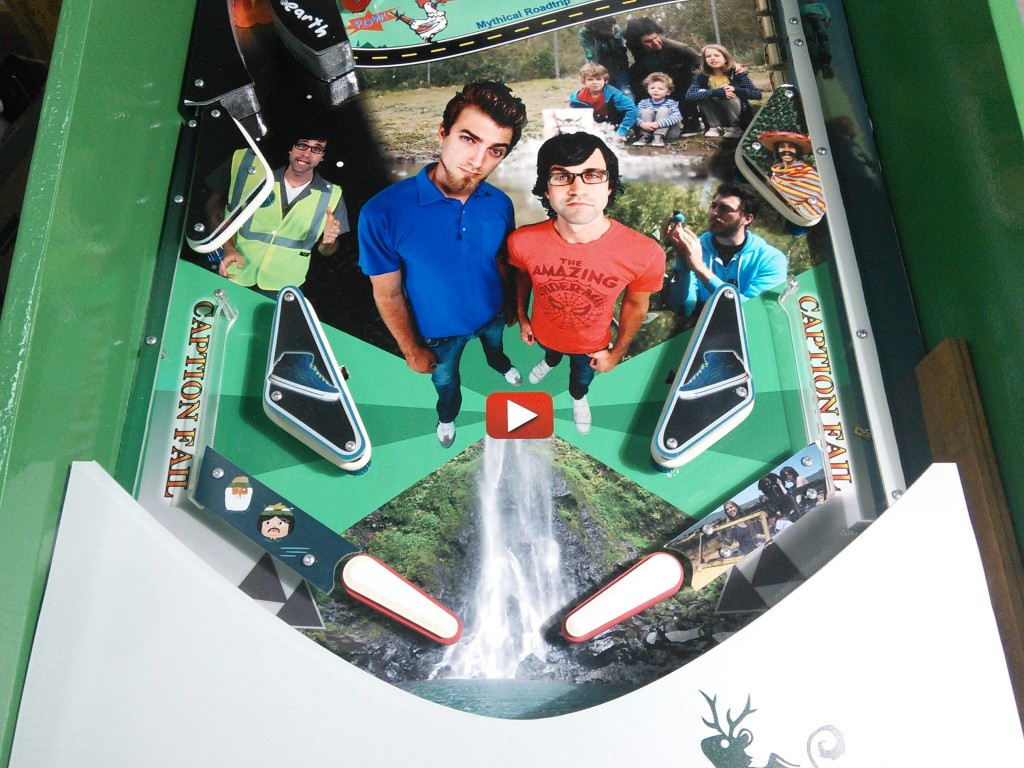 Lower Playfield - Close up.