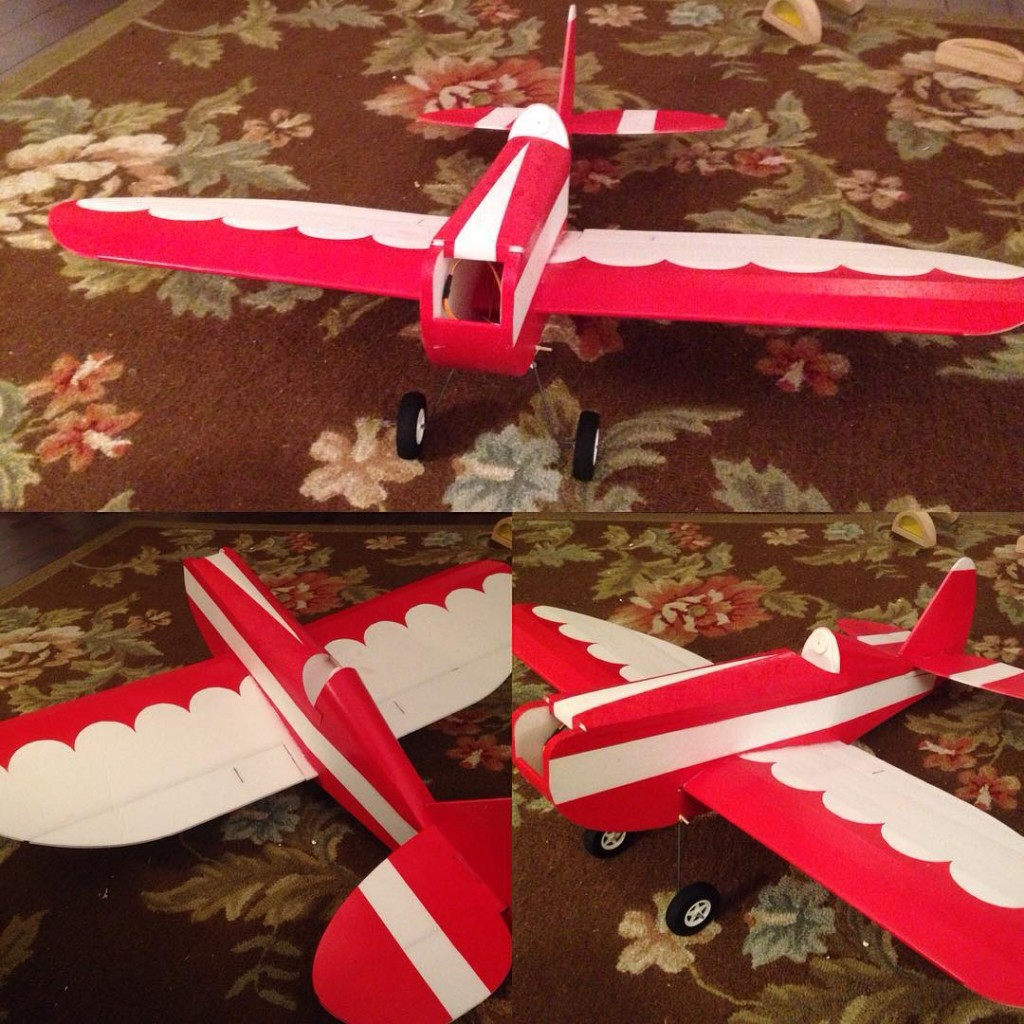 several RC Model Airplanes