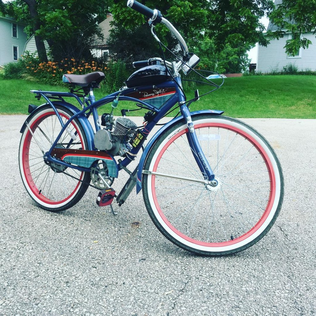 for a gasoline-powered motorized bicycle