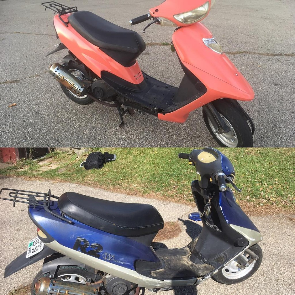 a 50cc Chinese Scooter Rebuild