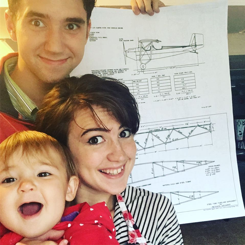 and now we're building an airplane!